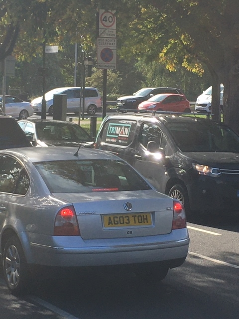 Traffic accident in Grove Park 9 September 1
