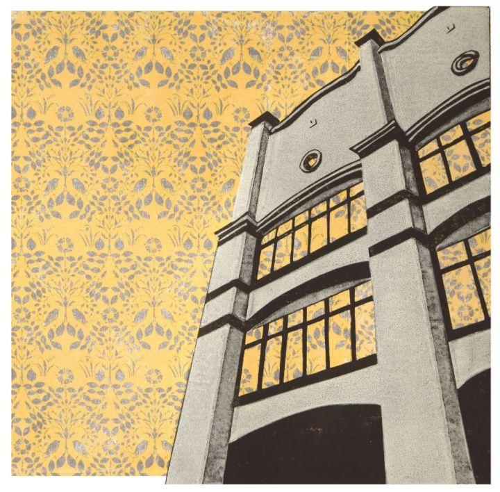 Voysey House Wallpaper - Rachel Busch