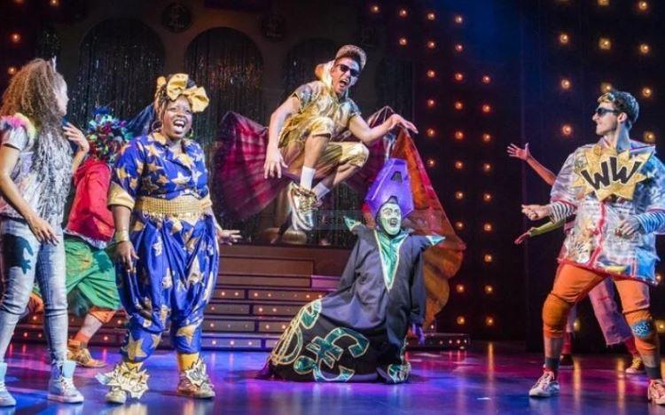 Lyric Hammersmith Aladdin panto 2016