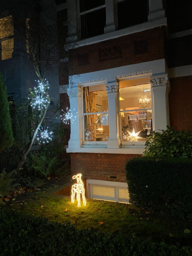 Christmas house decorations 3 - Jennifer Griffiths