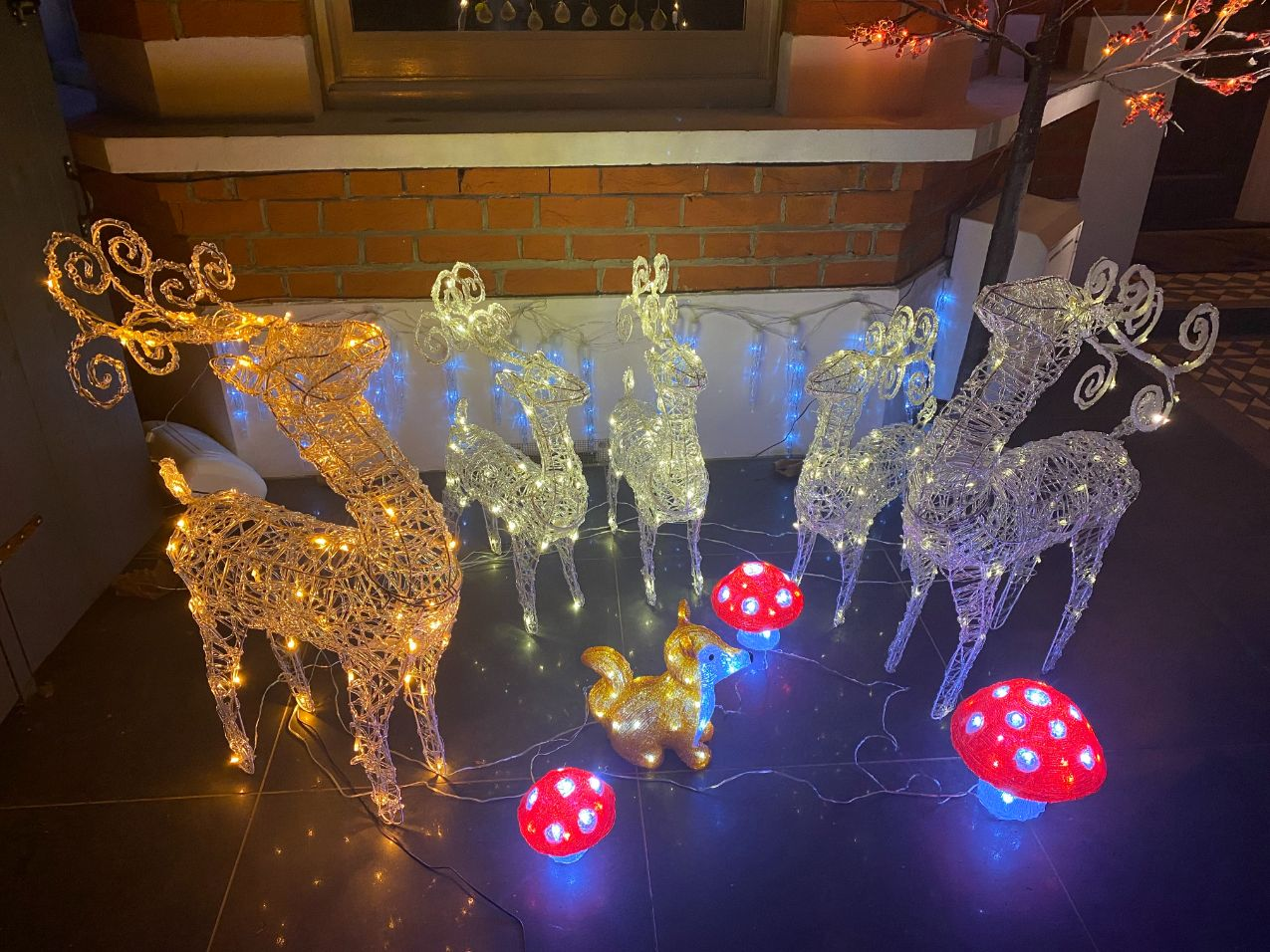 Christmas house decorations 5 - Jennifer Griffiths