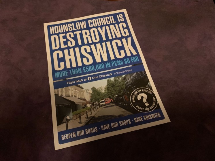Hounslow Council destroying Chiswick leaflet_web