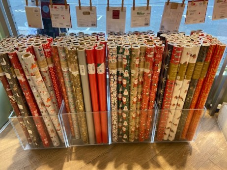 postmark wrapping paper