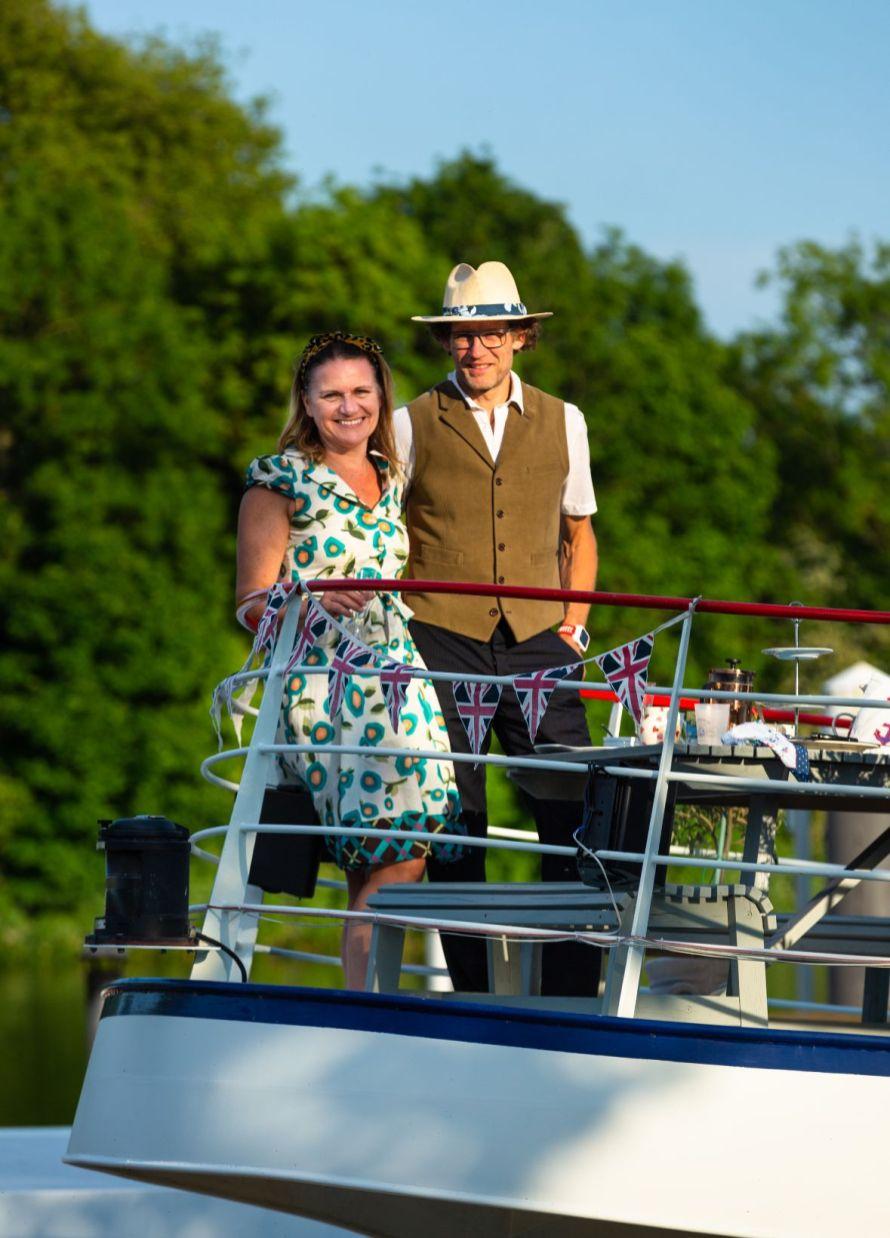 Duncan & Cathy Haynes - VE day 8th April 2020_web