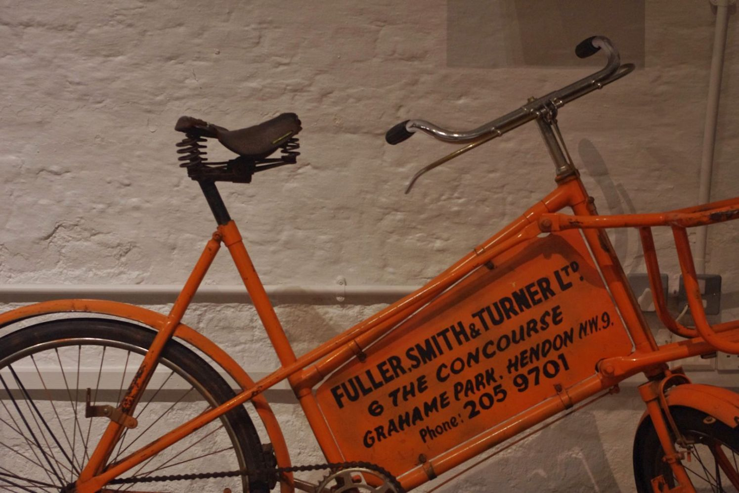 Griffin Brewery delivery bike