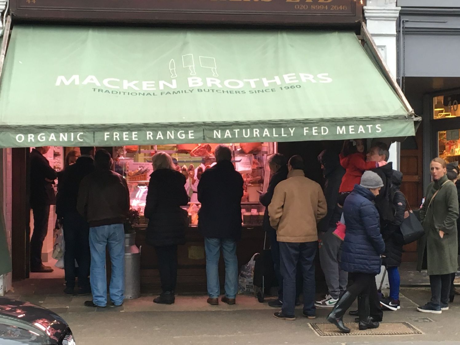 Macken's butcher