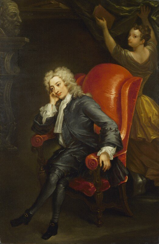 Alexander-Pope -attributed to Charles Jervas