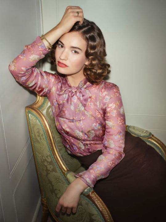 BBC adaptation 2021 - Lily James © BBC StudiosSteve Schofield