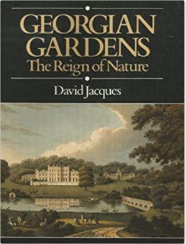Book cover - Georgian Gardens - The Reign of Nature