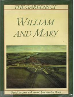 Book cover - The Gardens of William and Mary