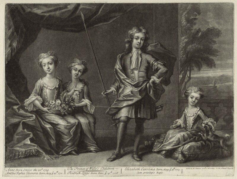 Children-of-King-George-II