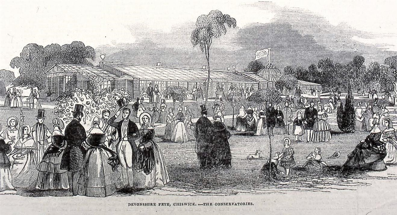 Picture 6 A fete in the 1840s
