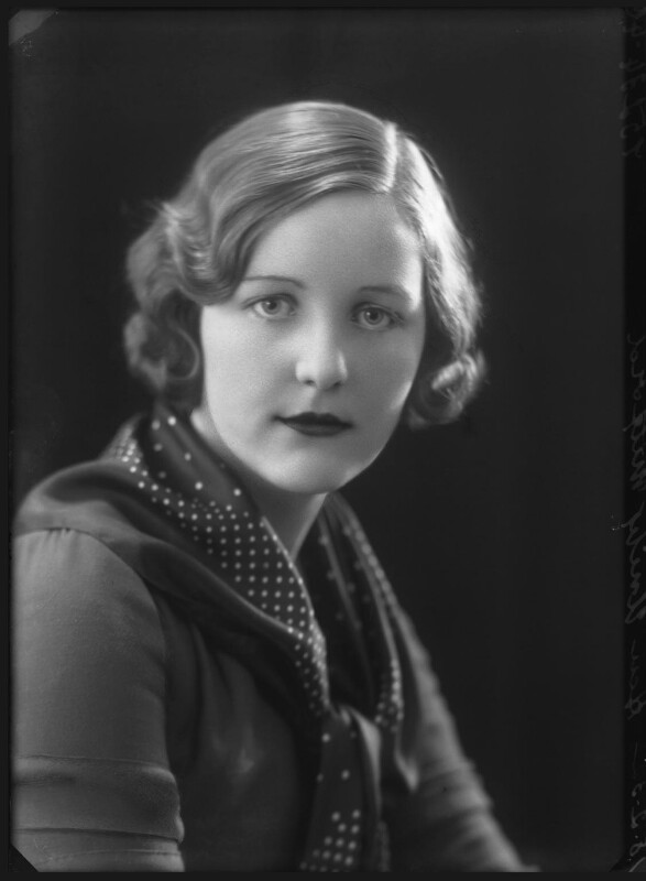 Unity-Mitford by Bassano Ltd, February 1932