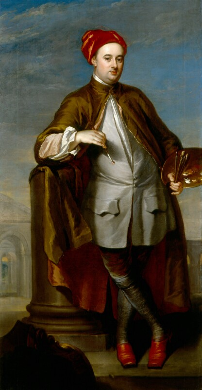 William-Kent by William Aikman, 1723-1725