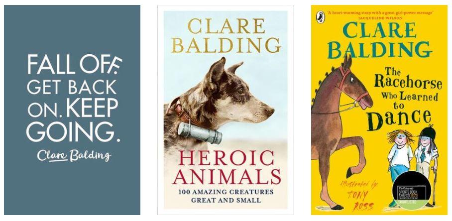 Clare Balding books