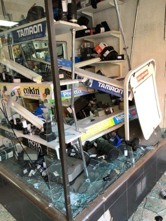 Chiswick Cameras ram raid 1_web