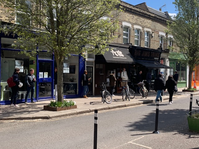 Chiswick High Road Reopened