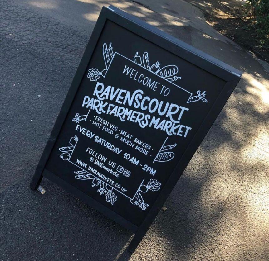 Ravensourt Park Market board_web