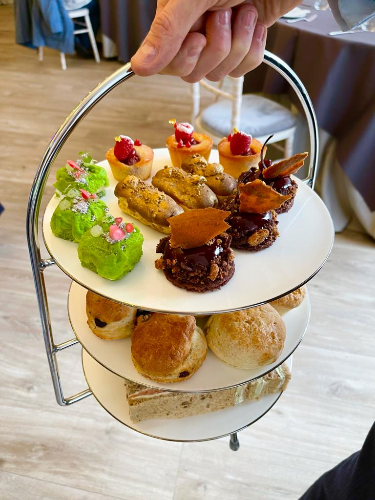 Afternoon Tea, Garden Pavilion, Chiswick House