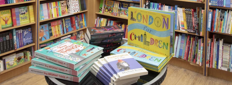 Bookcase London - Children's books_crop