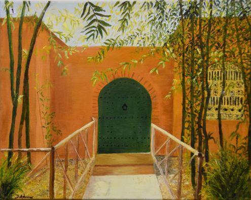 Diana Adams, Marrakech Doorway - UID1