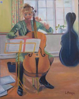 Lourdes Taunton-Collins, Girl playing the Cello - UID69
