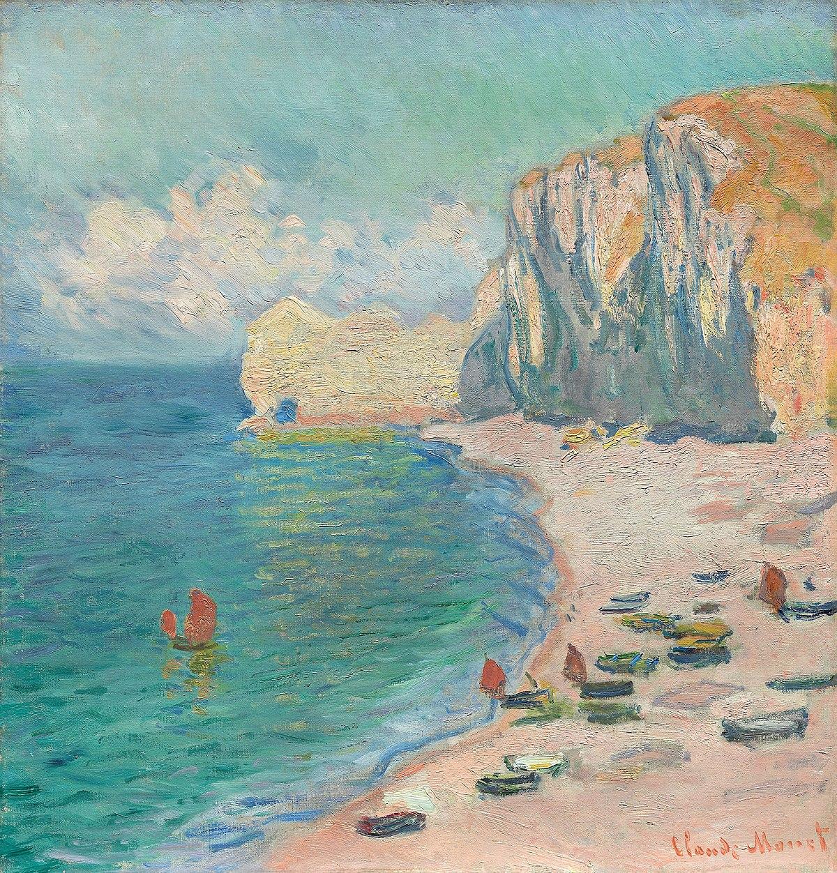 Monet - The Beach