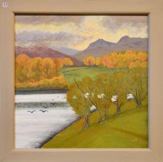 Nigel Denton, Autumn Light Loughrigg Tarn - UID17