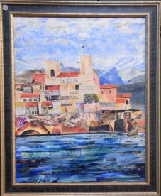 Patricia Lawrie, Antibes (dreaming of a holiday) - UID50