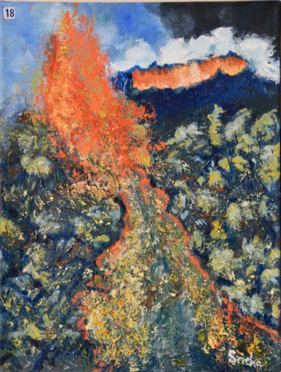 Sneha Dewan, Ingeneous rocks from lava - UID18