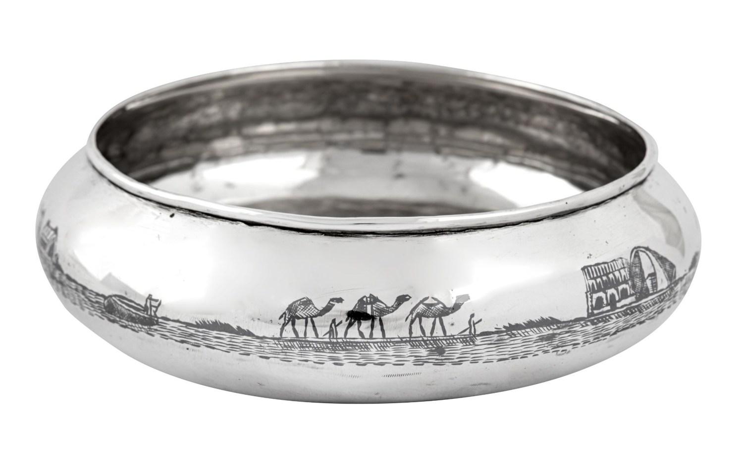 Silver auction 6_web - Iraqi silver bowl_crop