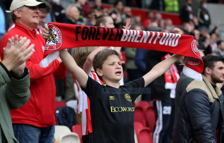 Brentford FC win against Bournemouth 22 May 4