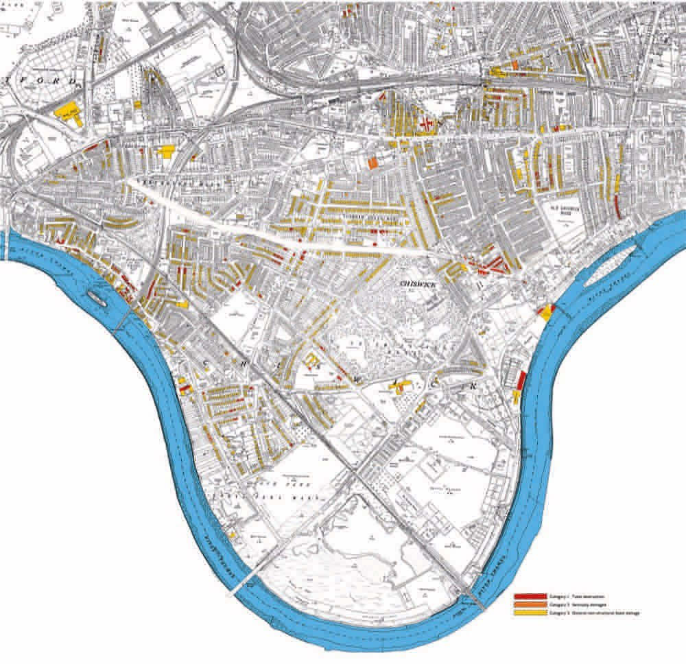 Timeline Of Historic Maps Chiswick Through The Centuries