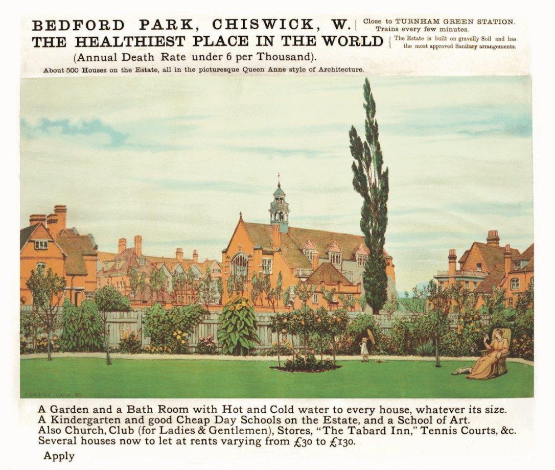 Chiswick Timeline 1882 F Hamilton Jackson