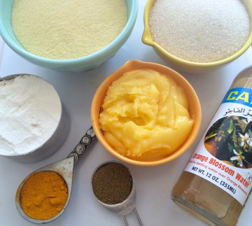 Golden Cake Ingredients
