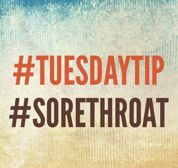 #Tuesdaytip #sorethroat #chitchaatchai