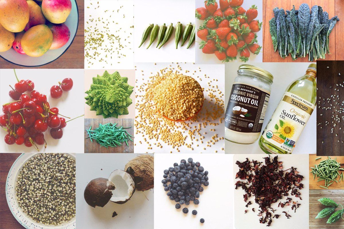 Summer-Grocery-List Ayurveda chit-chaat-chaii