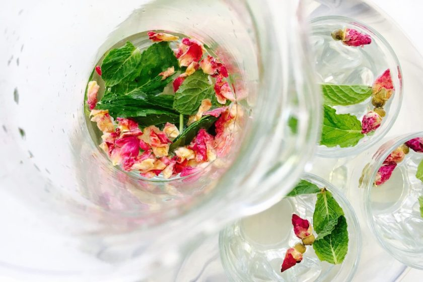 Rose-Mint-Water
