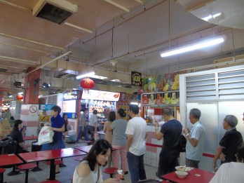 Singapore - Hawker Stall Michelin Queue