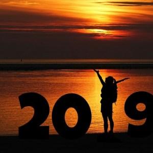 新年 2019 謹賀新年 正月