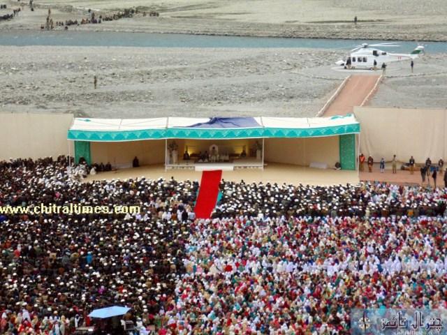 HH Aga Khan Chitral Booni visit pics 1