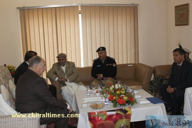 HH aga khan visit to chitral arrived airport477