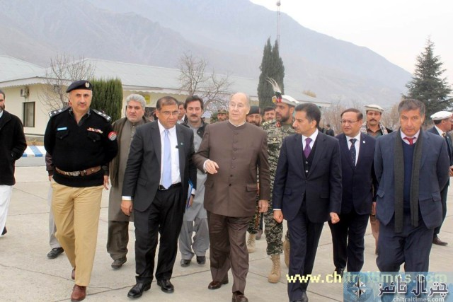 HH aga khan visit to chitral