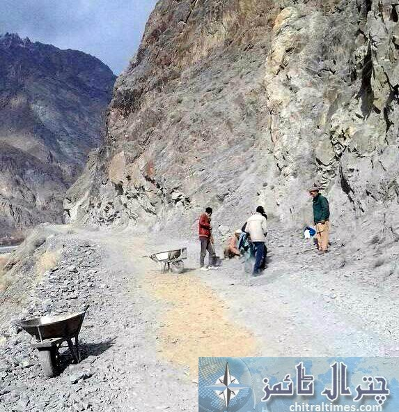 HH visit to Chitral and volunteers