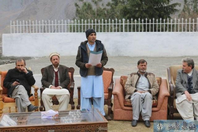 Afsar Ali accounts officer Chitral retired program 1