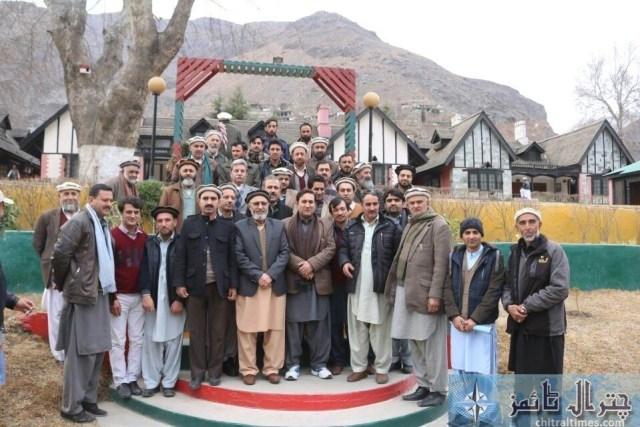 Afsar Ali accounts officer Chitral retired program 2