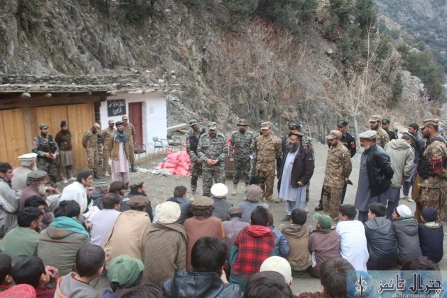 Comdt Chitral scouts visit Ursoon 4