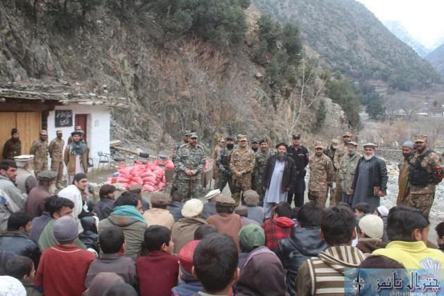 Comdt Chitral scouts visit Ursoon 5