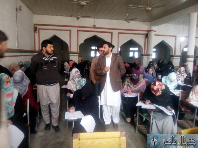 Osama career academy and gcmhs chitral test 2