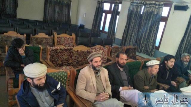 Shabir ahmad press confrence chitral